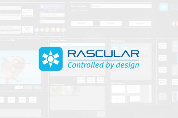 RASCULAR DEBUTS LATEST SDI AND IP CONTROL TECHNOLOGIES AT IBC 2017